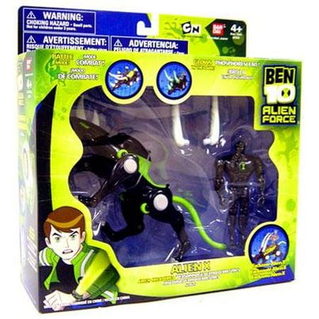 Ben 10 Alien Creatures Alien X Action Figure Set (Alien X Ben 10)