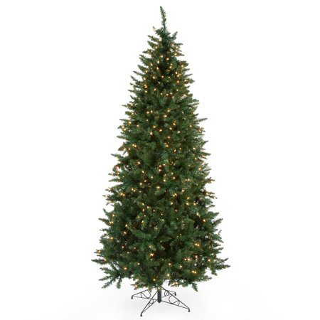 Classic Pine Slim Pre Lit Christmas Tree Walmartcom