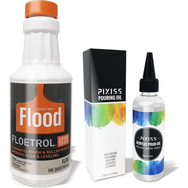 Floetrol Pouring Medium For Acrylic Paint Flood Flotrol Additive
