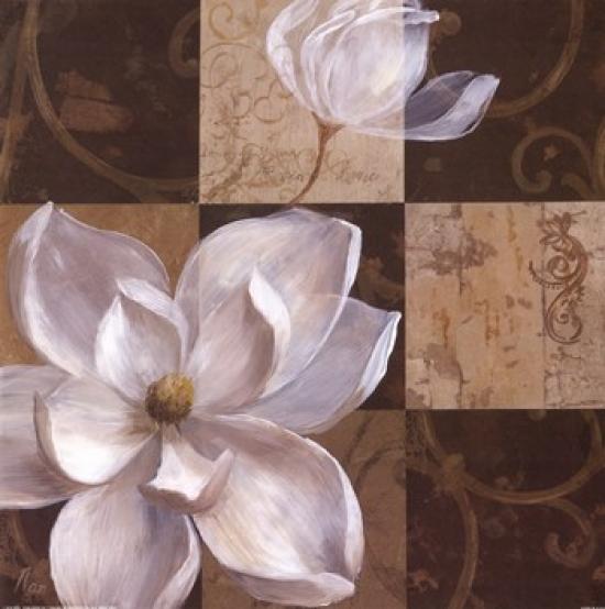 Southern Garden I Poster Print by Nan (20 x 20)