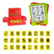 GeweYeeli Time-Telling Board Game Funny Bingo Style Entertainment for Children Intelligent Multiplayer Toy