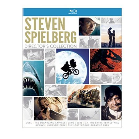 Steven Spielberg Directors Collection  Blu Ray With Digibook Packaging