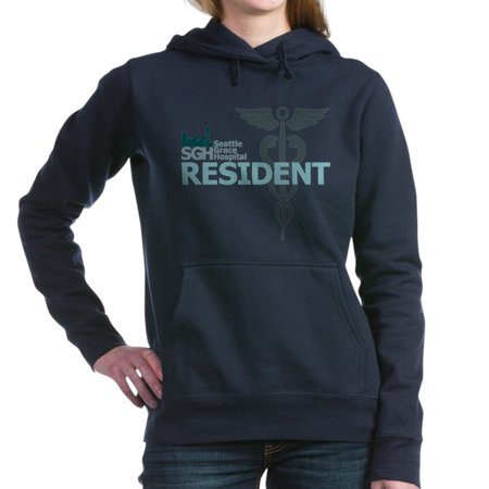 CafePress - Seattle Grace Hospital Resident Woman's Hooded Swe - Pullover Hoodie, Classic & Comfortable Hooded Sweatshirt