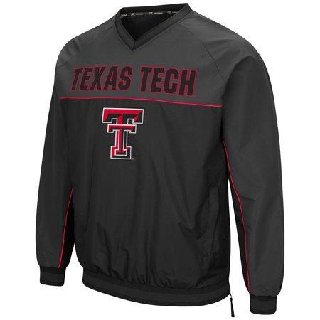 Mens Texas Tech Red Raiders Windbreaker Jacket - - Red Coat Mens