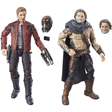 Marvel Legends Guardians of the Galaxy Vol. 2 Marvel's Ego & Star-Lord 2-Pack