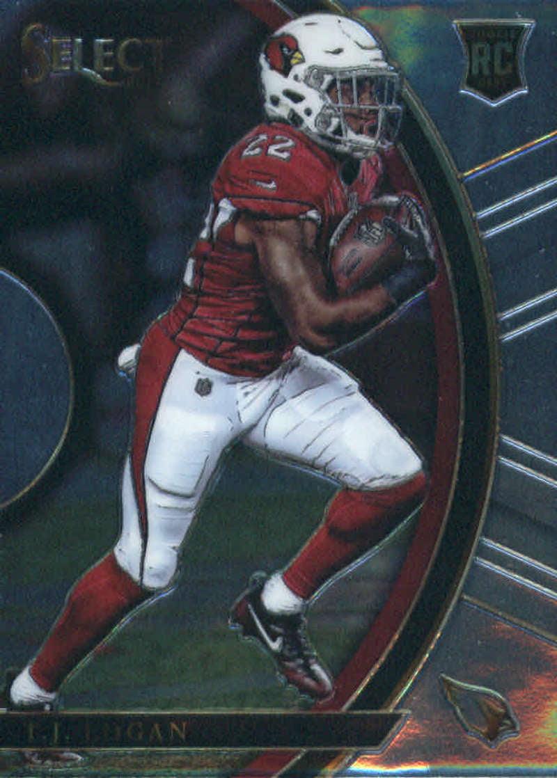 separation shoes 71e33 d083c 2017 Panini Select #7 T.J. Logan Arizona Cardinals Rookie Football Card