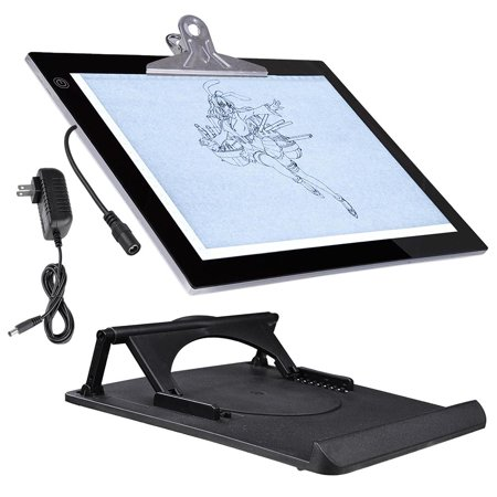 yescom a3 a4 led drawing board artcraft tracing light box with stand