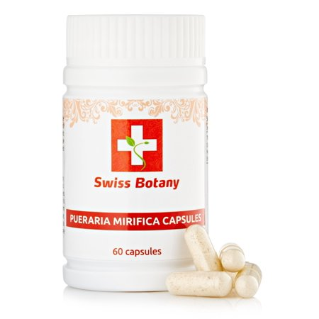 Pueraria Mirifica Capsules - Natural breast Firming & (Best Treatment For Breast Enlargement)
