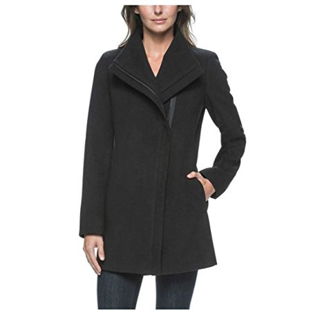 Andrew Marc Ladies' Black Jacket with Zippered Front and Lining (Large)