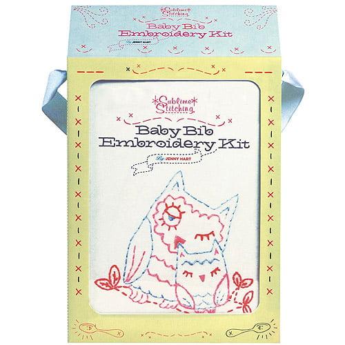 Chronicle Books, Baby Bib Embroidery Kit