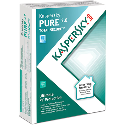 Kaspersky PURE 3.0 Total Security, 3 Users