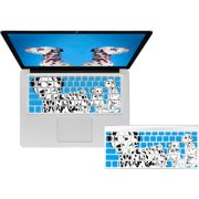 KB Covers Blue Dalmatians Keyboard Cover for MacBook/Air 13/Pro (2008+)/Retina & Wireless (DALMAT-MW-Blue)