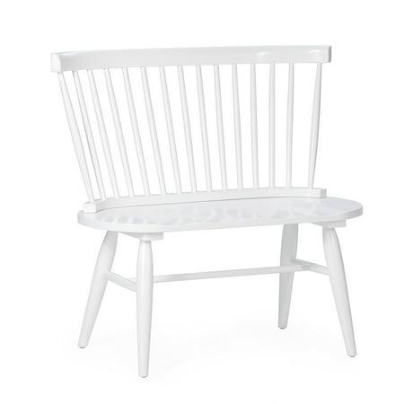 Admirable Belham Living Windsor Bench Theyellowbook Wood Chair Design Ideas Theyellowbookinfo