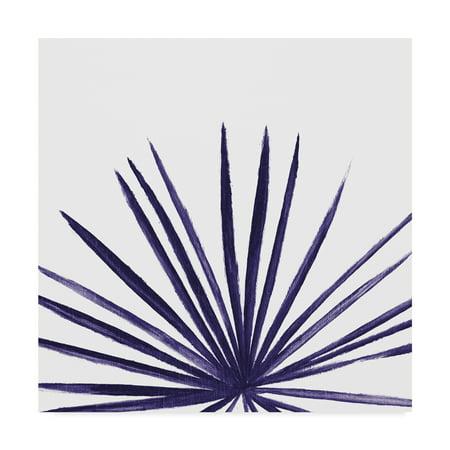 Trademark Fine Art 'Statement Palms III Indigo' Canvas Art by Wellington Studio ()