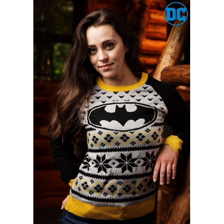Batman Women's Holiday Sweater - Batman Sweater
