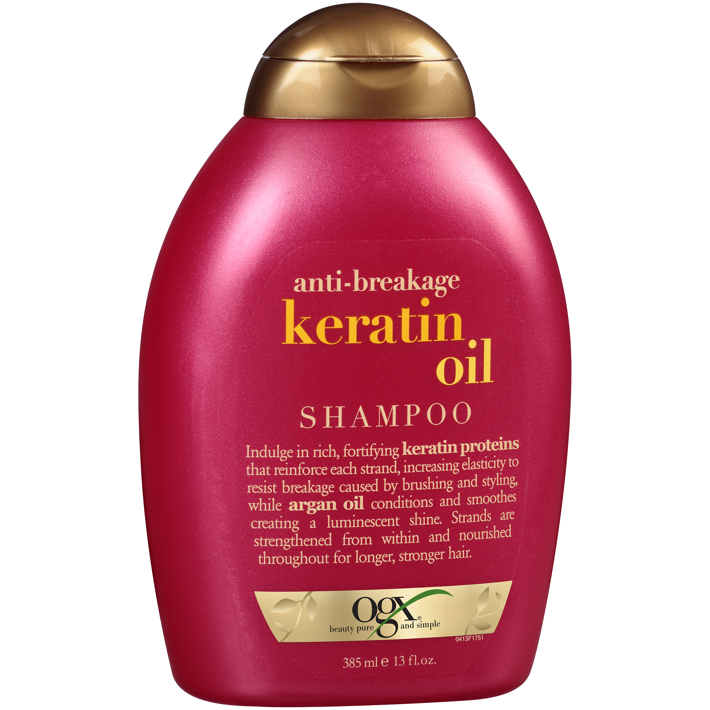 OGX�� Anti-Breakage Keratin Oil Shampoo 13 fl. oz. Squeeze Bottle