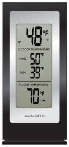 Acurite Digital Indoor   Outdoor Thermometer Celsius, Fahrenheit Reading Wall Mountable,... by Outdoor Thermometers