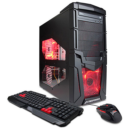 EOS 204S Mid-Tower Gaming Case with Power Efficient Power Supply, Black