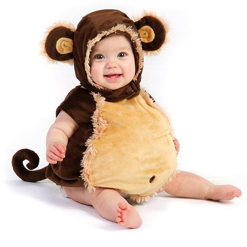 Baby Boy Monkey Halloween Costume size 18M-2T