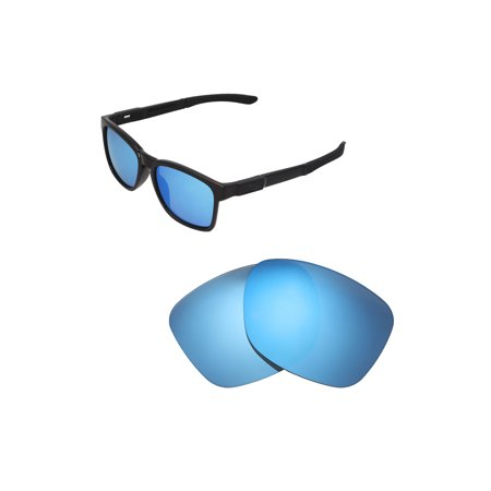 63e29fb8bf Walleva Ice Blue Polarized Replacement Lenses for Oakley Catalyst Sunglasses