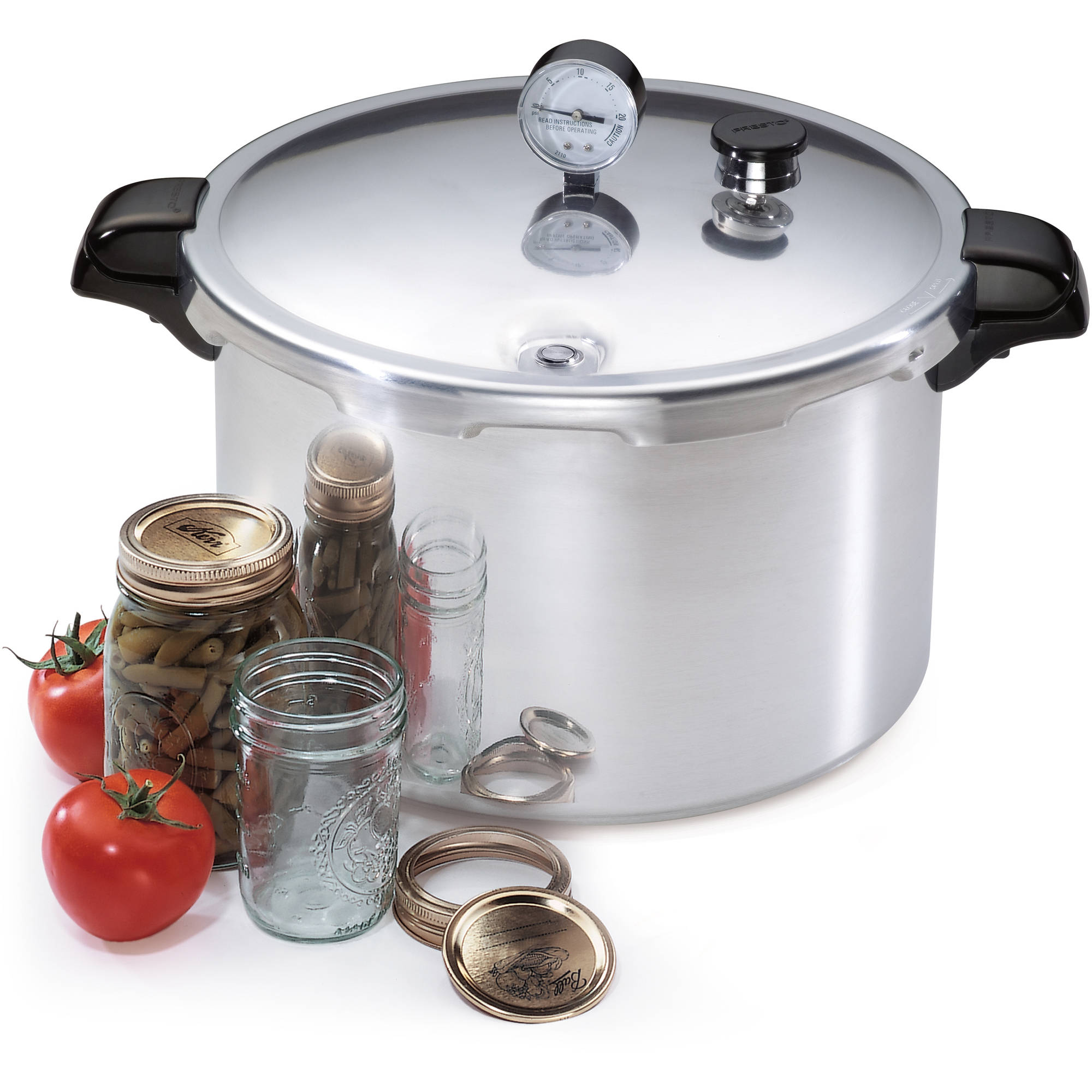 Presto 16-Quart Pressure Canner and Cooker 01755