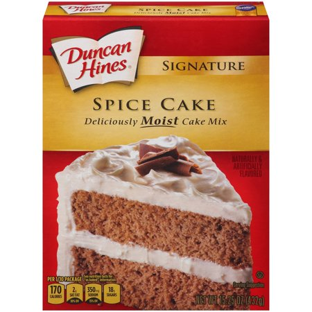 Duncan Hines SIGNATURE LAYER CAKE MIX Spice Cake 15.25 Oz