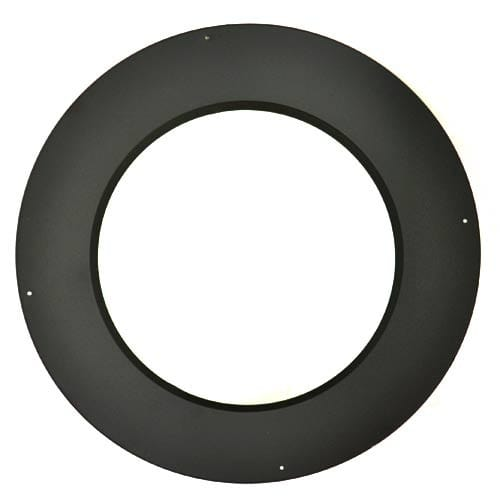 """SuperPro SPR8TCB 8"""" Inner Diameter - Class A Chimney Pipe - Double Wall - Trim Collar"""
