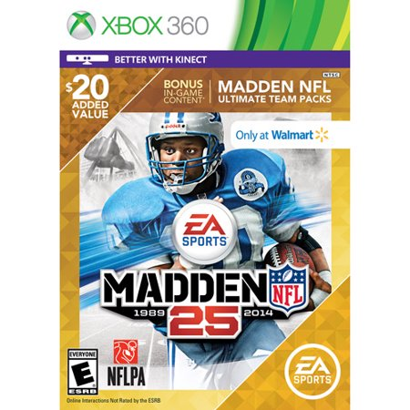 Image of Madden NFL 25 - Wal-Mart Exclusive (Xbox 360)