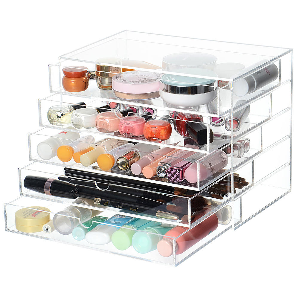 Acrylic Cosmetic Makeup Organizerbox