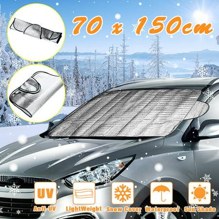 hengshiqi Windshield Sun Shade Skeletor Front Car Shield Window Shade Blocks Sun Auto Visor Cover Protector Fold-Up Truck Sun Glare
