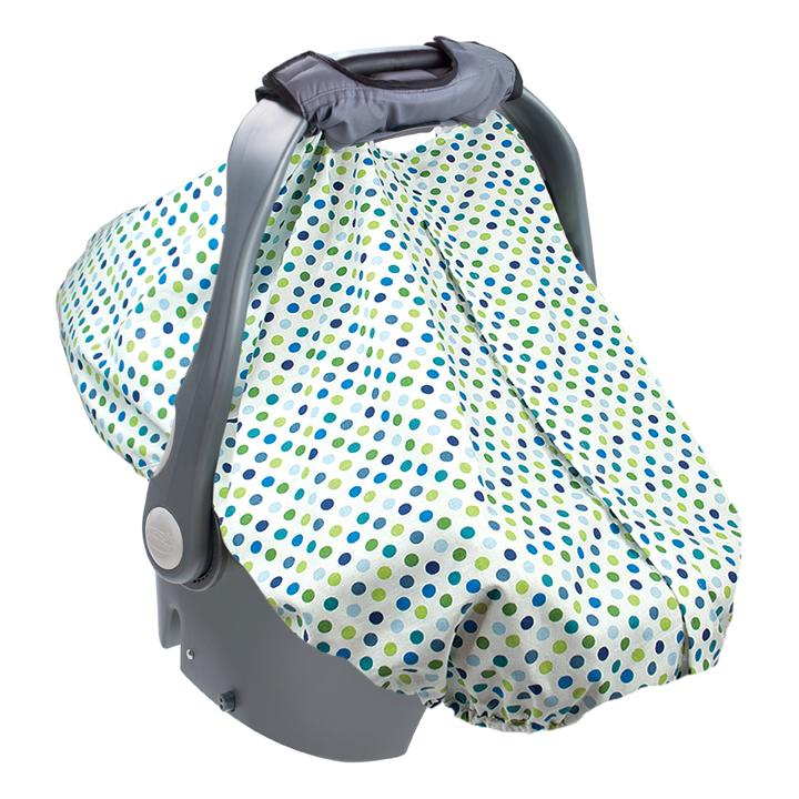 Summer Infant Carry and Cover Infant Carseat Cover - Dots