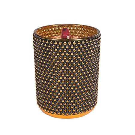 Red Currant Collection Studded black glamour candle, By Votivo Votivo Black Ginger