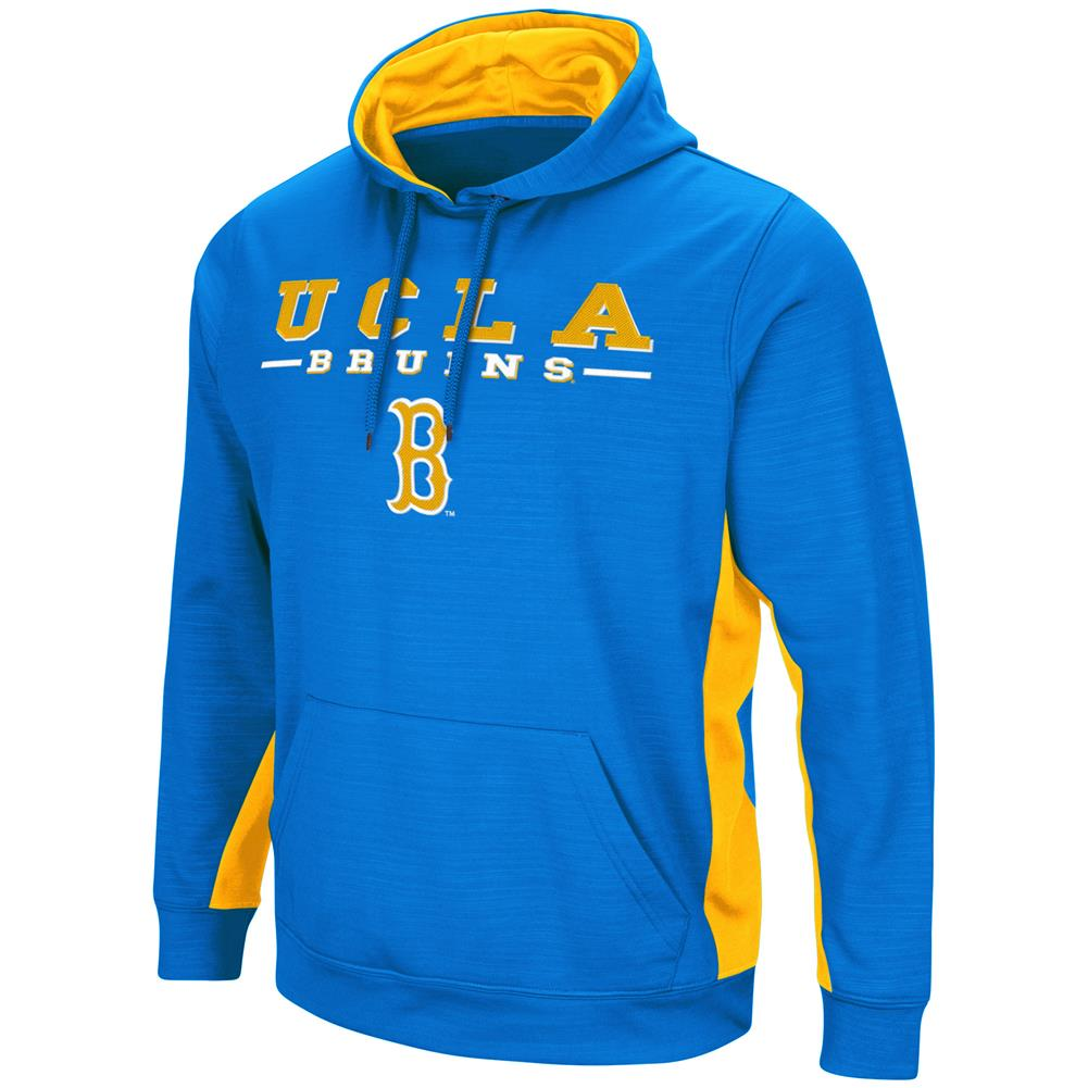 UCLA Bruins Hoodie Performance Fleece Pullover Jacket
