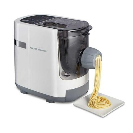 Hamilton Beach 86650 Electric Automatic Custom Pasta Noodle Maker Machine, (Best Custom Pc Maker)