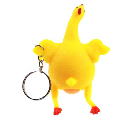 Doctor Shaped Stress Reliever (Funny Chicken and Eggs Shaped Decompression Anti-stress toys Stress Reliever for Keychain)