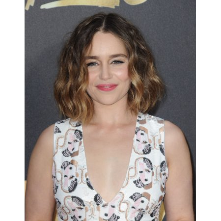 Emilia Clarke At Arrivals For Mtv Movie Awards 2016 - Arrivals 2 Warner Bros Studios Burbank Ca April 9 2016 Photo By Dee CerconeEverett Collection Celebrity
