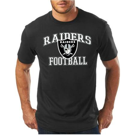 Nfl Mens Oakland Raiders Short Sleeve Tee