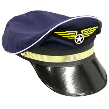 Pilot Hat Adult Halloween Accessory](Diy Halloween Top Hat)