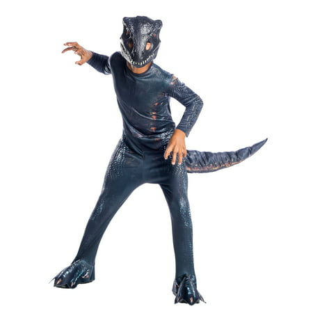 Jurassic World: Fallen Kingdom Villain Dinosaur Child Halloween Costume - Disney World Halloween Party Costume Ideas