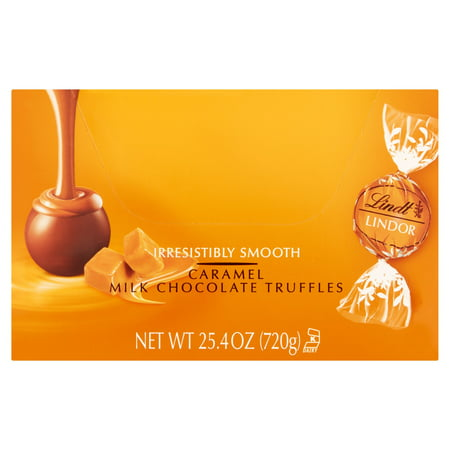 Boxed Truffle - Lindt Truffles Caramel, 60 Count