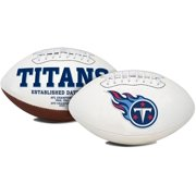 1509965411 Tennessee Titans Embroidered Signature Series Classic Football by Generic