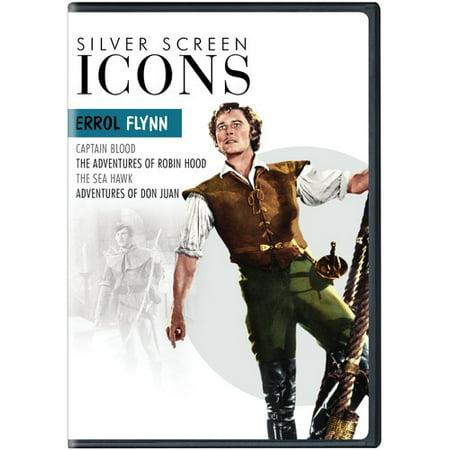 Silver Screen Icons  Errol Flynn