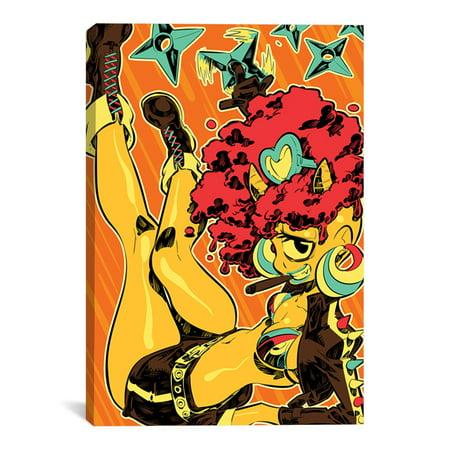 "Cyclops Girl Artwork | Choose from Canvas or Art Print | Living Room, Bedroom, Office, Bathroom Wall Decor Art Ready to Hang Para El Hogar Decoracion | 48"" x 32"" - Decoracion Halloween Para Jardin"