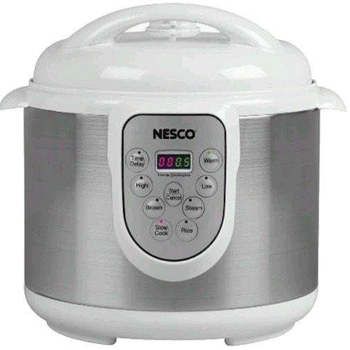 Nesco PC-614PR 6 Quart Pressure Cooker Perp