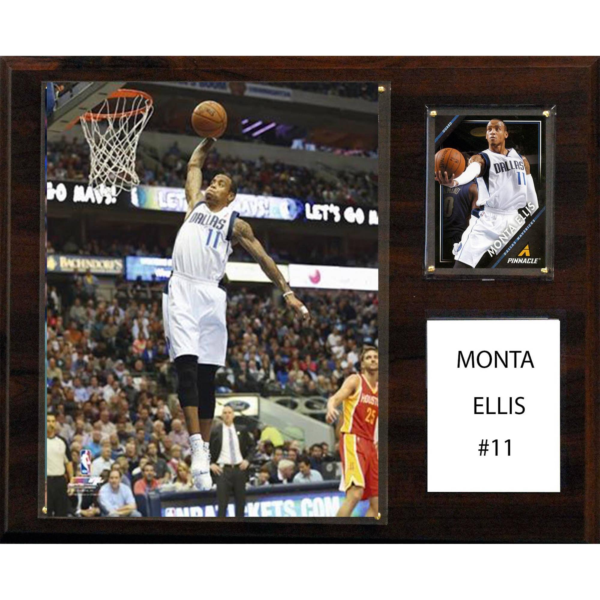 C&I Collectables NBA 12x15 Monta Ellis Dallas Mavericks Player Plaque