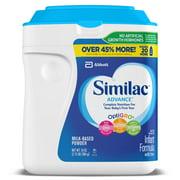 Similac Advance Infant Formula with Iron, Baby Formula 34 oz, 2 Count