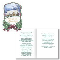 Christmas Blessings Card Set of 20