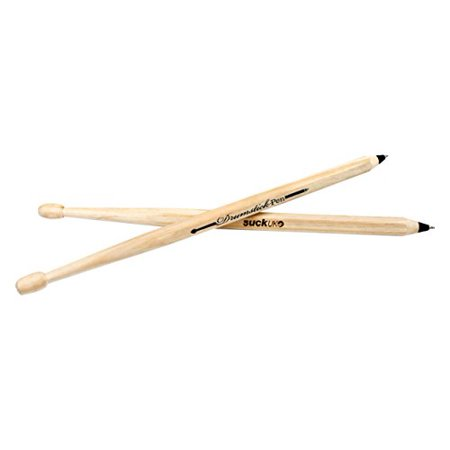SUCK UK Drumstick Pens, Set of 2 - Black Ink - Drumstick Pens