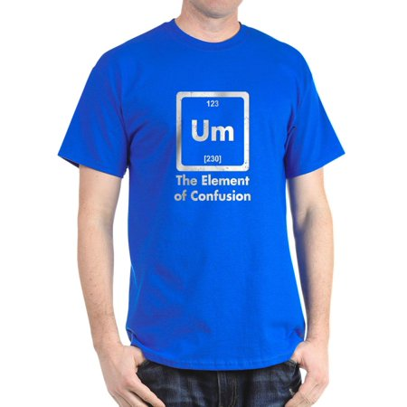 CafePress - Um The Element Of Confusion T Shirt - 100% Cotton T-Shirt