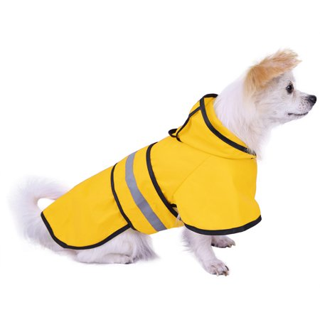 HDE Dog Raincoat Hooded Slicker Poncho for Small to X-Large Dogs and Puppies HDE Dog Raincoat Hooded Slicker Poncho for Small to X-Large Dogs and Puppies - Poncho Dog